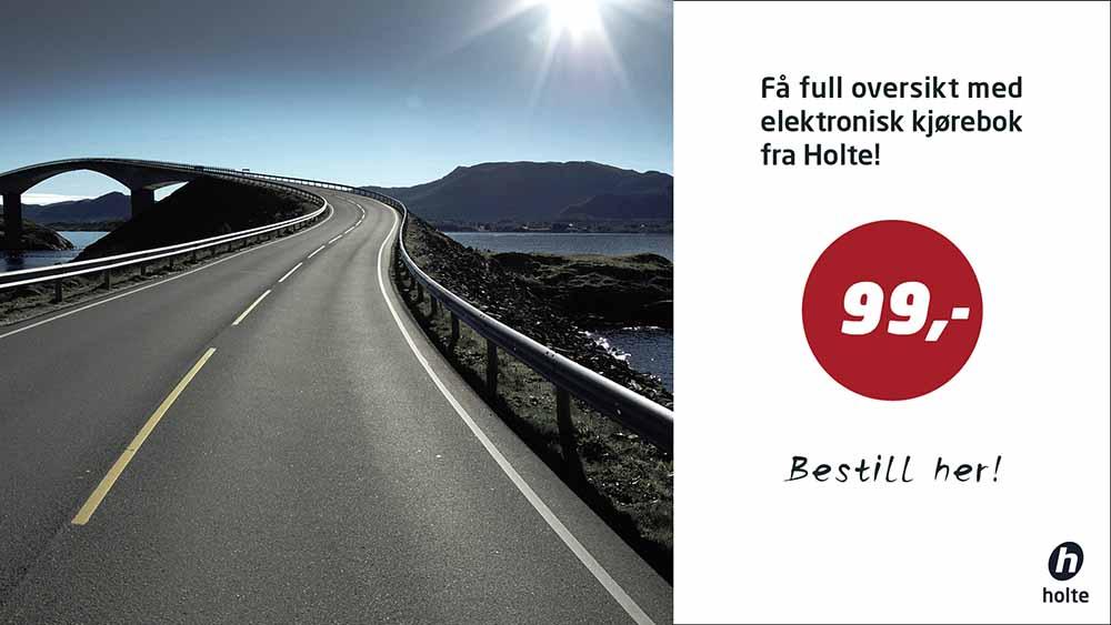 Få full oversikt med elektronisk kjørebok fra Holte