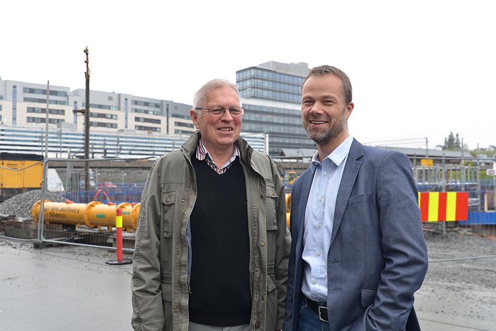 Dag Arne Danielsen og Frode Eek i Holte