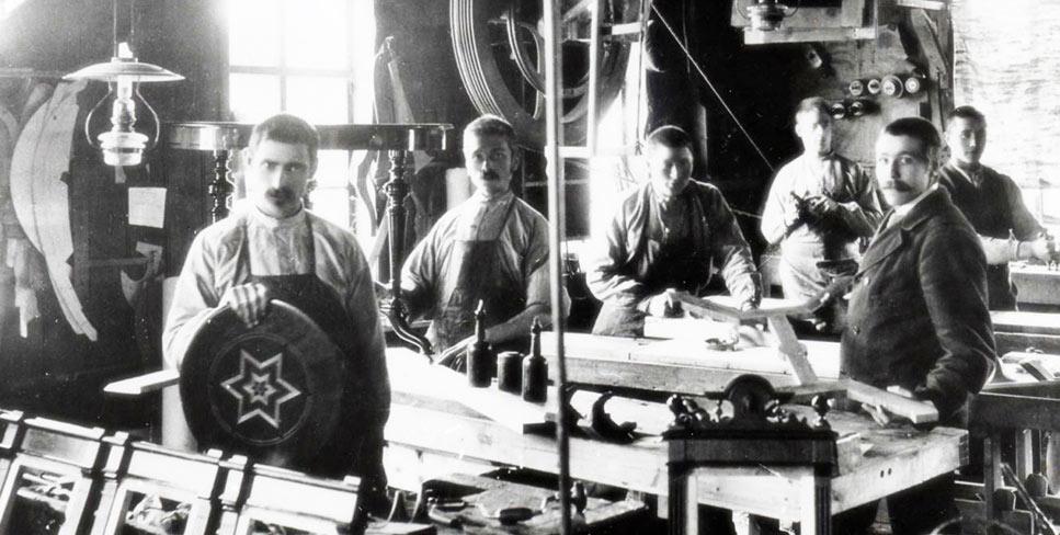 Bilde fra Talgøs produksjon på 1800-tallet