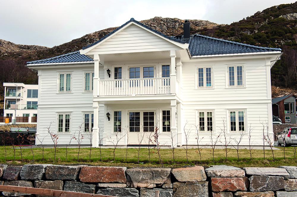 Hus fra Garvik prosjekt AS