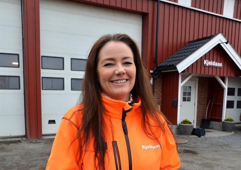 Marianne Kjenås, kvalitets- og HMS-ansvarlig i Kjeldaas AS