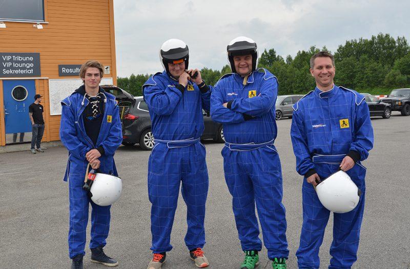 4 forventningsfulle deltagere