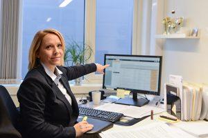 Slik kan Holte ByggSøk hjelpe meg med byggesøknaden, sier Fay-Nina Mjøen i Boligpartner