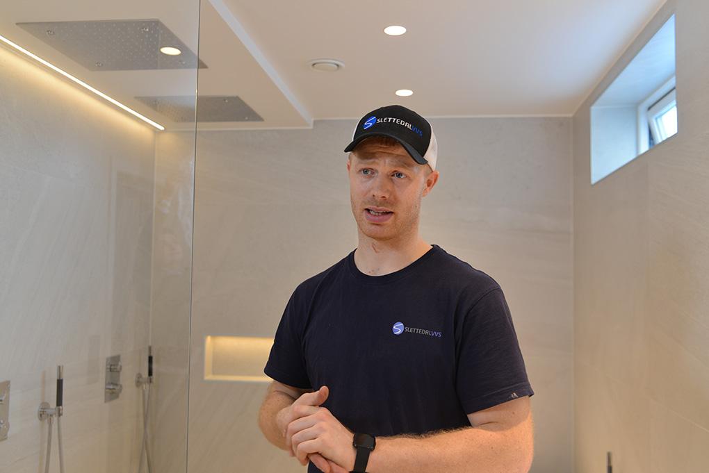 Svein Egil Aslaksen-Vedvik styrer spennende smarthus-prosjekt med JobOffice fra Holte.