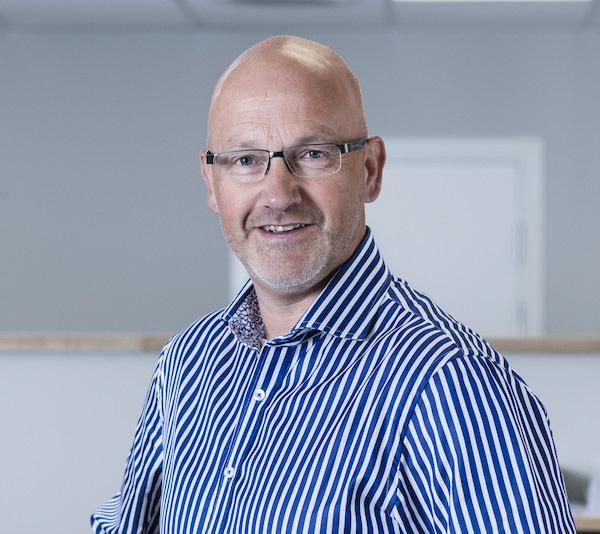 Bjørn Olav Gladbakke, daglig leder i SBG Byggprosjekt
