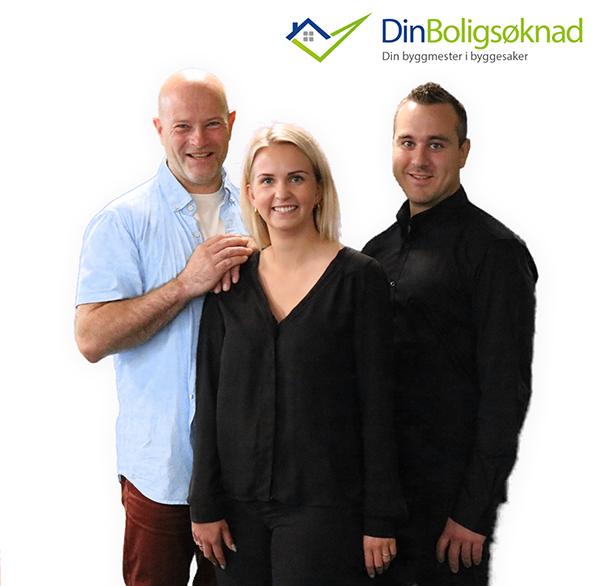 Ragnvald, Katinca og Kristoffer, DinBoligSoknad