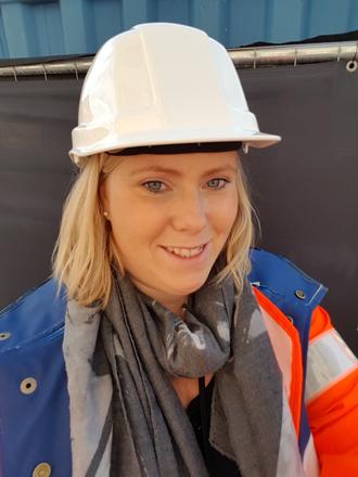 Siri Kristiansen råder andre jenter til byggebransjen